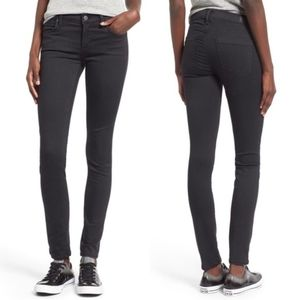 Agolde Colette Gray Skinny Stretch Jeans
